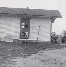 Entrance to the original Howell Airport