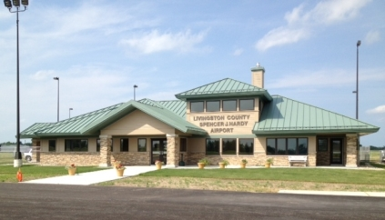 Livingston County Spencer J Hardy Airport Terminal