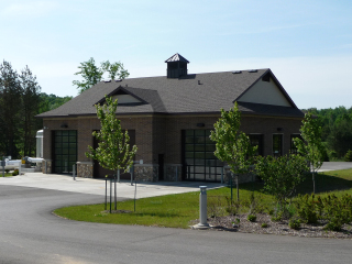 Photo of the Livingston County Septage Receiving Station
