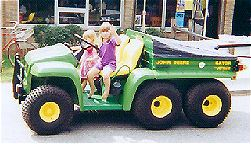 John Deere Utility vehicle.