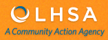 "OLHSA logo.  ""A Community Action Agency."""