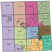 County Commissioner Districts