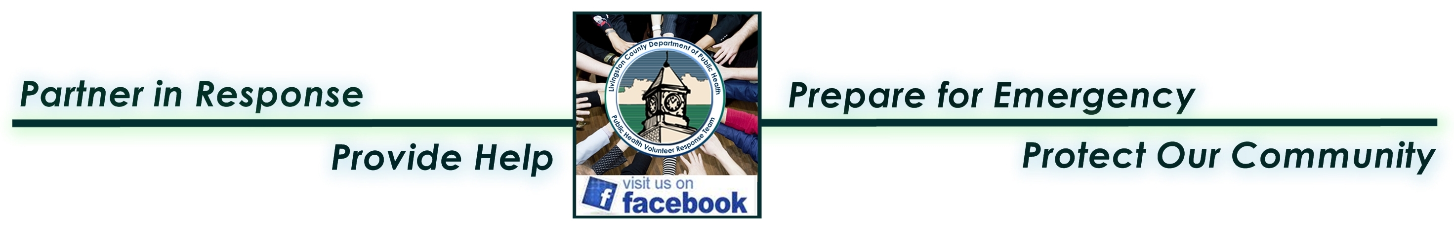 Ready in Livingston County Facebook banner.