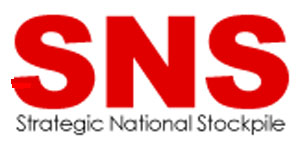 SNS Strategic National Stockpile logo
