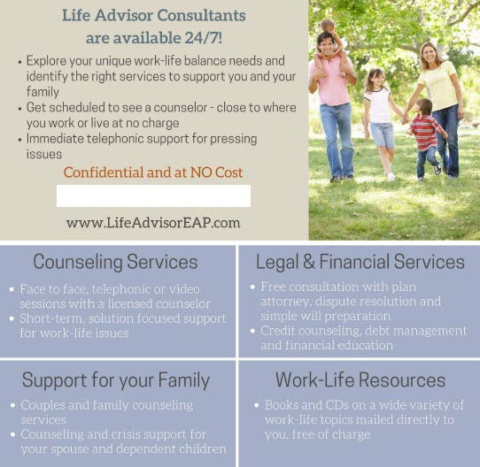 Ulliance Employee Assistance Program graphic