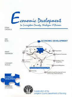 Economic Development in Livingston County Booklet Cover