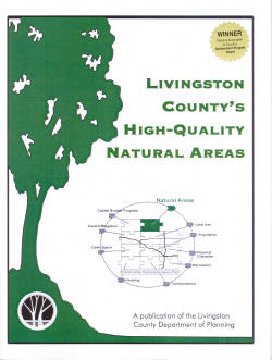 Livingston County's High-Quality Natural Areas