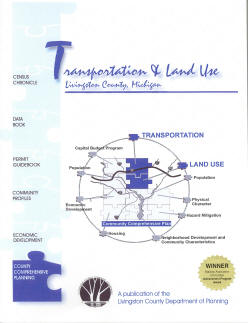 Transpotation and Land Use in Livingston County Booklet Cover