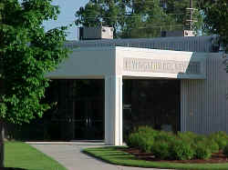 The livingston County Jail entrance.